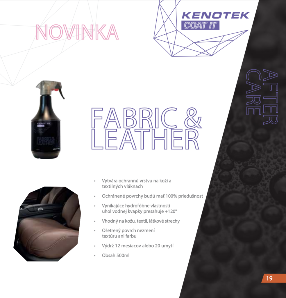 Kenotek Fabric Leather Protect